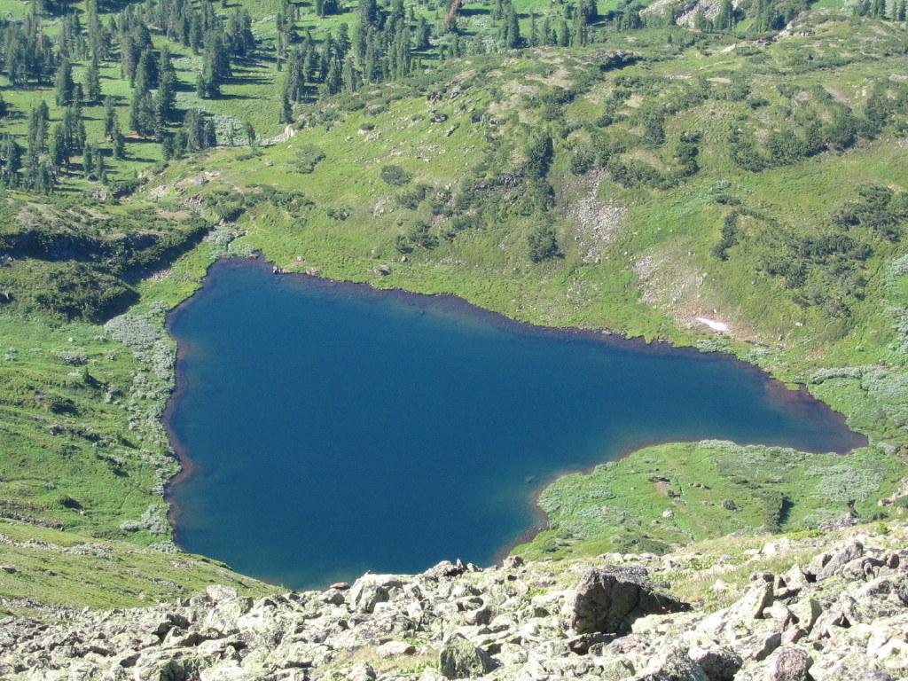 Озеро сердце фото