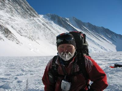 гору Винсон в Антарктиде,